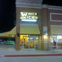Photo taken at Which Wich? Superior Sandwiches by Roam B. on 3/23/2011