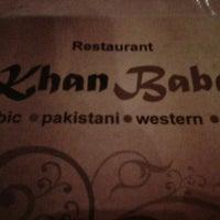 Photo taken at Khan Baba Restaurant by Wan N. on 7/27/2012