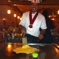 Photo taken at Sake Sushi Hibachi House by Jeanette on 8/13/2011