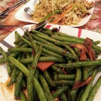Photo taken at Yuan Fu Vegetarian by Laureen O. on 1/28/2012