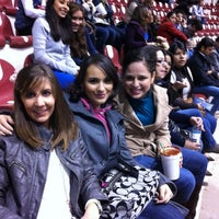 Photo taken at Coliseo Centenario by cHio V. on 3/10/2012