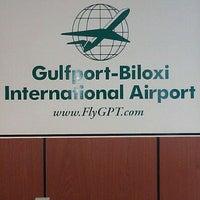Photo taken at Gulfport-Biloxi International Airport (GPT) by Marlon D. on 10/16/2011
