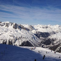 Photo taken at Les Grands Montets by jc on 12/28/2011