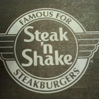Photo taken at Steak 'n Shake by Mike H. on 9/5/2011