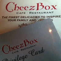 Photo taken at Cheezbox Cafe & Restaurant by Aisya A. on 9/25/2011