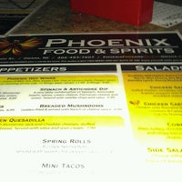 Photo taken at Phoenix Food And Spirits by Danielle L. on 8/1/2012