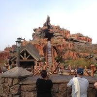 Photo taken at Splash Mountain by Jose C. on 2/29/2012