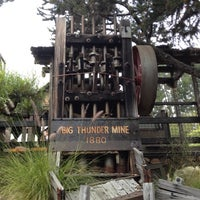 Photo taken at Big Thunder Mountain Railroad by Janet M. on 6/21/2012