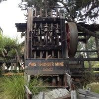 Photo taken at Big Thunder Mountain Railroad by Janet M. on 6/21/2012