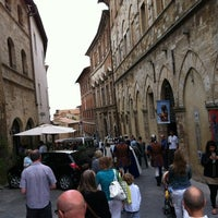 Photo taken at Piazza Grande by Koray E. on 9/2/2012