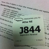 Photo taken at Wisconsin Division of Motor Vehicles (DMV) by Dustin C. on 3/26/2012