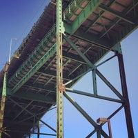 Photo taken at Maurice J. Tobin Memorial Bridge by Todd P. on 7/21/2012