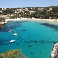 Photo taken at Cala Galdana by Josep M. on 5/12/2012
