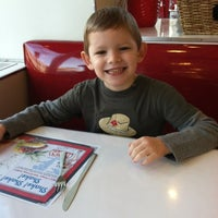 Photo taken at Ruby's Diner by Ryan F. on 3/10/2012