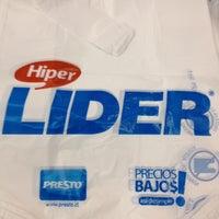 Photo taken at Hiper Líder by Jorge A. on 4/6/2012