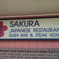 Photo taken at Sakura Japanese Restaurant by Andre R. on 7/2/2012