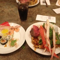 Photo taken at MORE The Buffet at Luxor by Stephen B. on 8/14/2012