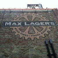 Photo taken at Max Lager's Wood-Fired Grill & Brewery by Danielle W. on 7/20/2012