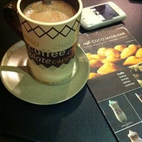 Photo taken at Café Coco Madeleine by Sally A. on 8/14/2012