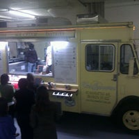 Photo taken at Van Leeuwen Ice Cream Truck by Lynne d J. on 2/3/2012