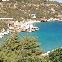 Photo taken at Hilton Bodrum Türkbükü Resort & Spa by Huseyin G. on 9/11/2012