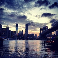 Photo taken at Under The Brooklyn Bridge by Lindsey D. on 6/19/2012