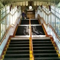 Photo taken at Wimbledon Park London Underground Station by Olivier W. on 3/14/2012