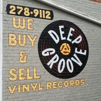 Photo taken at Deep Groove Records by Amber Y. on 8/6/2012