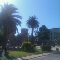 Photo taken at Piazza Rossetti by Lswitch on 8/22/2011