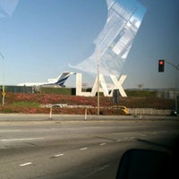 Photo taken at LAX Sign by Frank L. on 3/3/2012