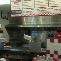 Photo taken at Five Guys by Cedric T. on 8/28/2011