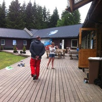 Photo taken at Skydive Voss by Catarina V. on 6/24/2012