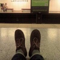 Photo taken at Lansdowne Subway Station by Yuli S. on 5/21/2012