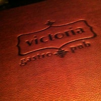 Photo taken at Victoria Gastro Pub by Andrew B. on 1/21/2012