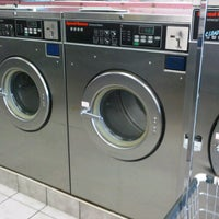 Photo taken at Sudz Laundromat by Tene W. on 9/25/2011