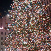 Photo taken at Rockefeller Center Christmas Tree by RaY D. on 12/23/2011