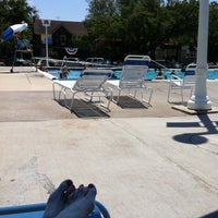 Photo taken at University Park Pool by Merri P. on 8/14/2011