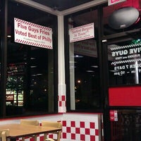 Photo taken at Five Guys by Ron L. on 9/23/2011
