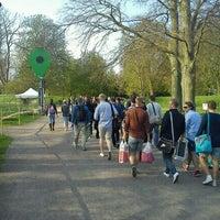 Photo taken at Stadsparken by Ken C. on 4/30/2012
