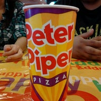 Photo taken at Peter Piper Pizza by Denise M. on 10/1/2011