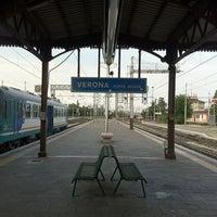 Photo taken at Verona Porta Nuova Railway Station by Joni H. on 6/24/2011