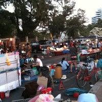 Photo taken at Bangsaen Walking Street by 1show on 2/4/2011
