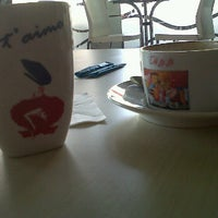 Photo taken at Oh La La Cafe by Devenni F. on 10/15/2011