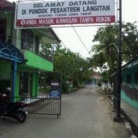 Photo taken at Pondok Pesantren Langitan by Rafidah A. on 1/27/2012