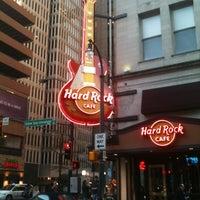 Photo taken at Hard Rock Cafe Atlanta by Bethany B. on 1/15/2012