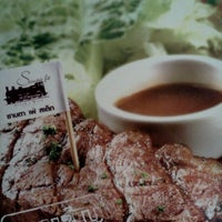 Photo taken at Santa Fe' Steak by Jakapong A. on 3/17/2012