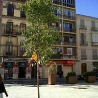 Photo taken at Plaza de Maria Guerrero by Federico d. on 1/29/2012