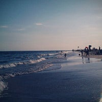 Photo taken at Point Lookout Beach (Town Park) by Allison K. on 7/31/2011