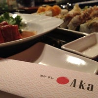 Photo taken at Aka Sushi House by J.Fo on 5/7/2012