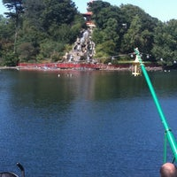 Photo taken at Peasholm Park by Dave P. on 7/28/2011